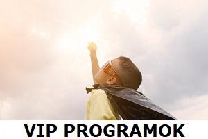 Életmódváltó és VIP programok, csomagok előfizetések