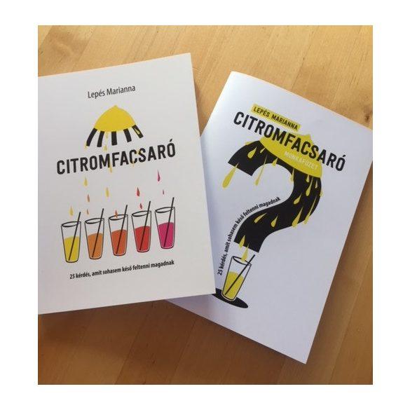 Lepés Marianna - Citromfacsaró munkafüzet