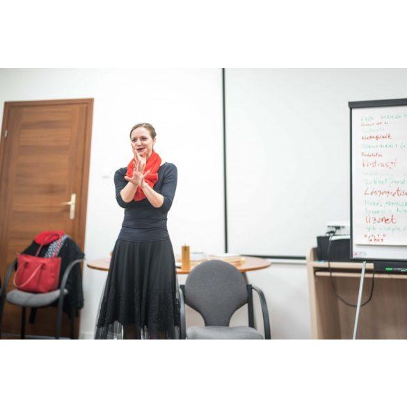 Előadói edzésterv - avagy készülj igényesen és hatékonyan! - online workshop Neisz Laurával - 2 ebook + BÓNUSZ 2 alkalom Skype konzultáció